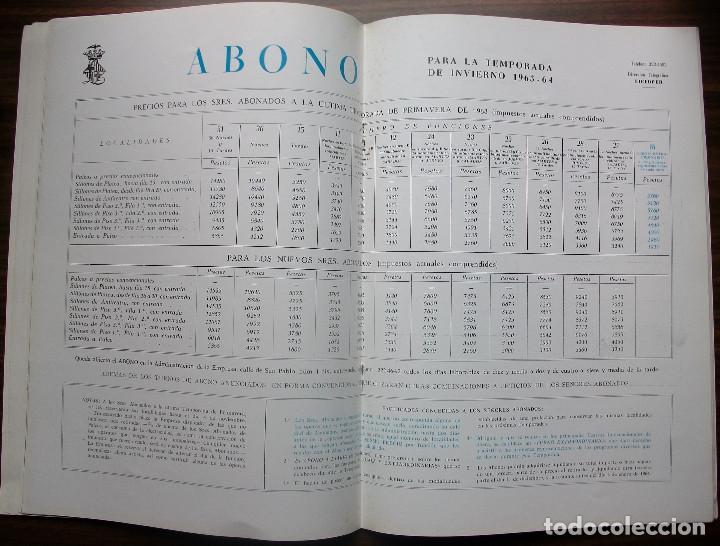 Libretos de ópera: GRAN TEATRO DEL LICEO. EMPRESA: JUAN A. PAMIAS. TEMPORADA DE INVIERNO 1963-64 - Foto 6 - 147761606