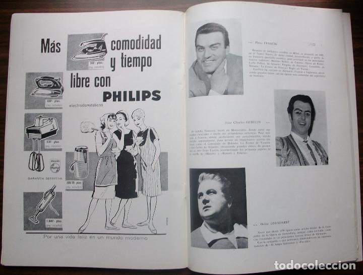 Libretos de ópera: GRAN TEATRO DEL LICEO. EMPRESA: JUAN A. PAMIAS. TEMPORADA DE INVIERNO 1963-64 - Foto 7 - 147761606