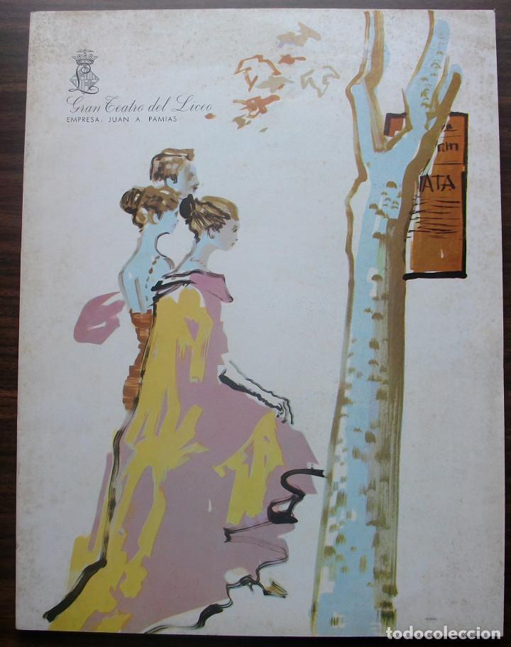 GRAN TEATRO DEL LICEO. TEMPORADA DE OPERA 1967-68 (Música - Libretos de Opera)
