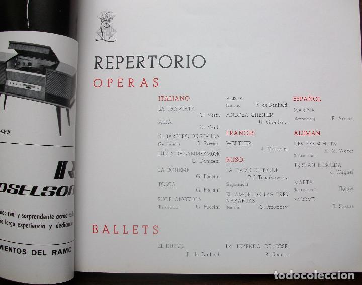 Libretos de ópera: GRAN TEATRO DEL LICEO. TEMPORADA DE OPERA 1967-68 - Foto 4 - 147762222