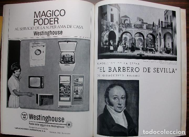 Libretos de ópera: GRAN TEATRO DEL LICEO. TEMPORADA DE OPERA 1967-68 - Foto 5 - 147762222