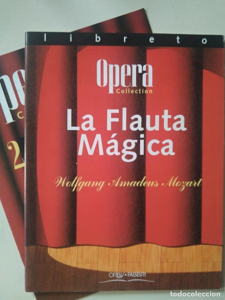 LIBRETO DE LA FLAUTA MÁGICA, MOZART (Música - Libretos de Opera)