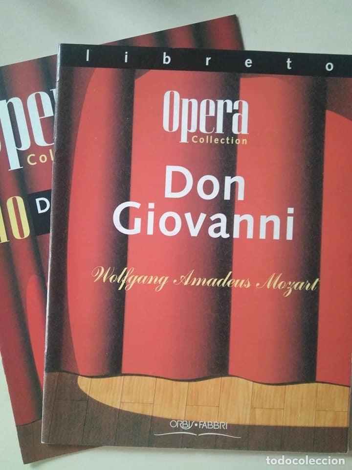 LIBRETO DE DON GIOVANNI, MOZART (Música - Libretos de Opera)