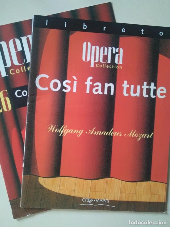 LIBRETO DE COSÌ FAN TUTTE, MOZART (Música - Libretos de Opera)