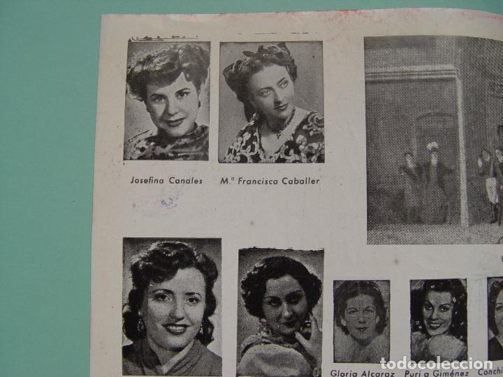 Libretos de ópera: Folleto libreto: Zarzuela LA CANCIÓN DEL OLVIDO (Madrid, 1950's). Original. Coleccionista. ¡Raro! - Foto 7 - 148431822