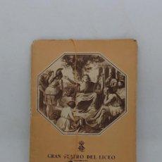 Libretos de ópera: GRAN TEATRO LICEO , TEMPORADA INVIERNO 1947 -1948. Lote 148699186