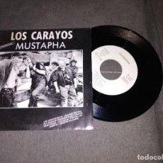 Libretos de ópera: LOS CARAYOS / MUSTAPHA / SINGLE PROMOCIONAL 45 RPM / ISLAND BMG. Lote 153886882