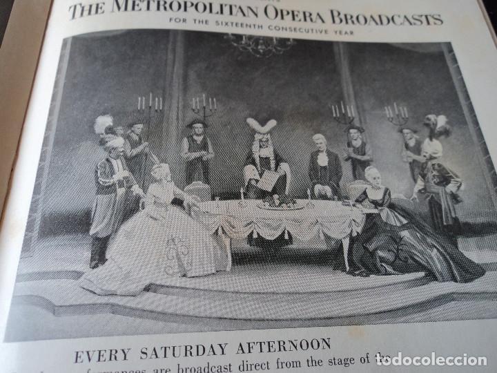 Libretos de ópera: METROPOLITAN OPERA NEW YORK TOSCA RENATA TEBALDI 1955 - Foto 12 - 159757882