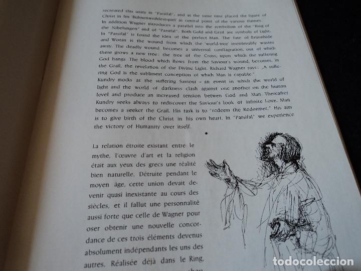 Libretos de ópera: Bayreuther Festspiele 1953 PARSIFAL ingles, aleman y frances para los entusiastas wagnerianos, 42 pg - Foto 7 - 159759042