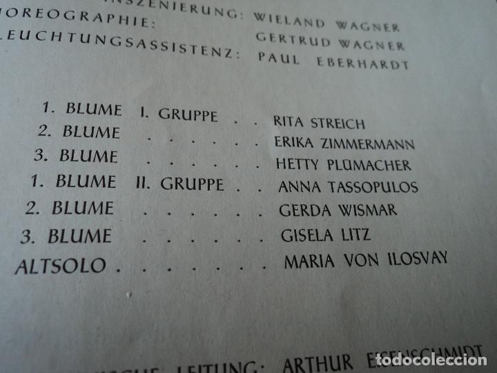 Libretos de ópera: Bayreuther Festspiele 1953 PARSIFAL ingles, aleman y frances para los entusiastas wagnerianos, 42 pg - Foto 11 - 159759042