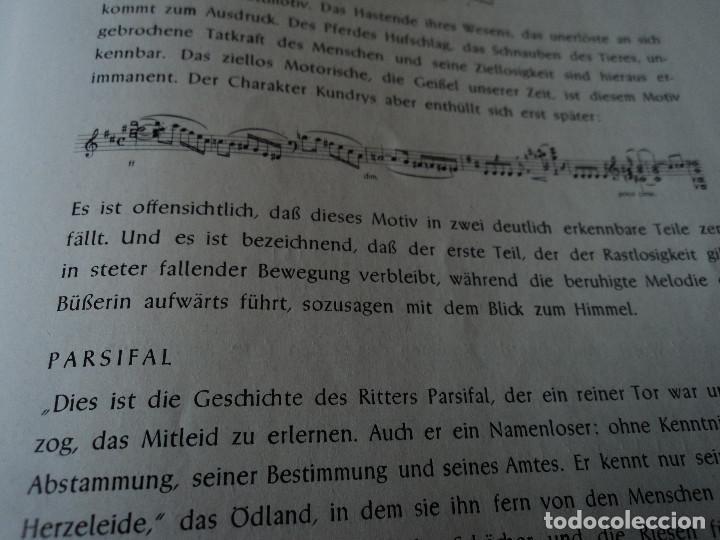 Libretos de ópera: Bayreuther Festspiele 1953 PARSIFAL ingles, aleman y frances para los entusiastas wagnerianos, 42 pg - Foto 16 - 159759042