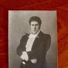 Libretos de ópera: MATTIA BATISTTINI 1918 FOTO AUTOGRAFIADA PHOTO AUTOGRAFFATA EUGENE ONEGIN. Lote 164747266