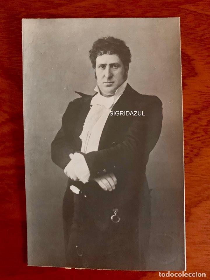 Libretos de ópera: MATTIA BATISTTINI 1918 FOTO AUTOGRAFIADA PHOTO AUTOGRAFFATA EUGENE ONEGIN - Foto 2 - 164747266