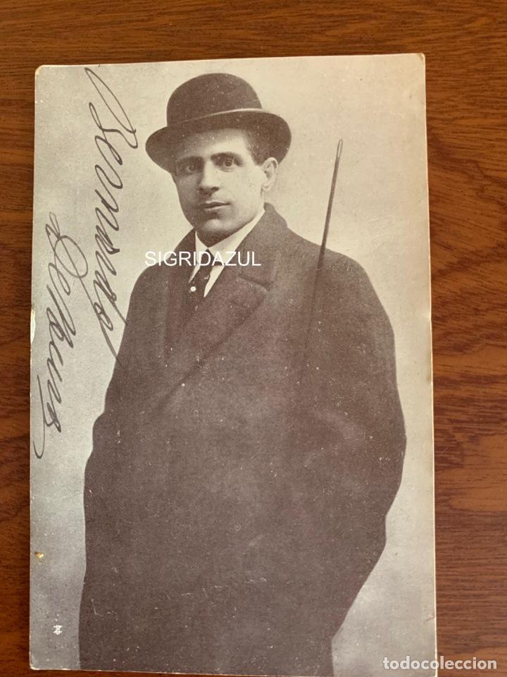 BERNARDO DE MURO FOTO 1917 TENOR OPERA ITALIANO AUTOGRAFO (Música - Libretos de Opera)