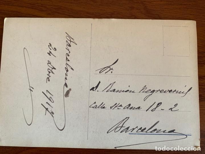 Libretos de ópera: BERNARDO DE MURO FOTO 1917 TENOR OPERA ITALIANO AUTOGRAFO - Foto 3 - 165109582