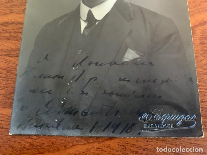 Libretos de ópera: ARMAND CRABBÉ FOTO 1918 TENOR OPERA BELGA - Foto 2 - 165110438