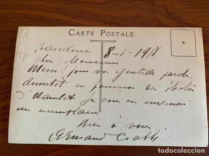 Libretos de ópera: ARMAND CRABBÉ FOTO 1918 TENOR OPERA BELGA - Foto 3 - 165110438