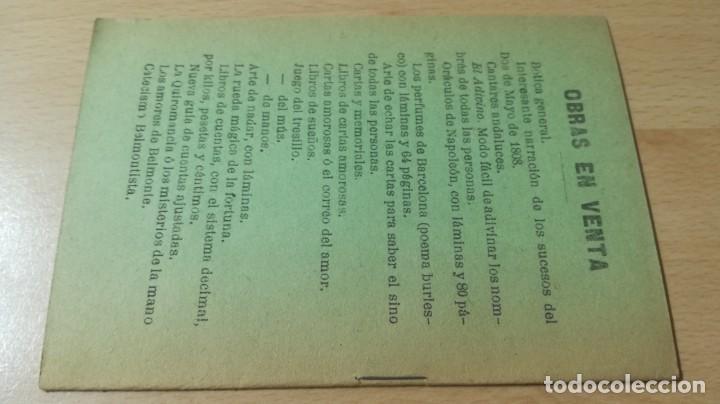 Libretos de ópera: ARGUMENTO DE RIGOLETTO/ MUSICA DEL MAESTRO VERDI/ 1916/ / H302 - Foto 2 - 169830860