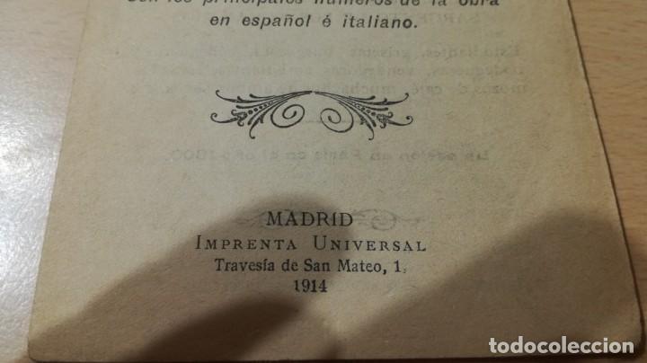 Libretos de ópera: ARGUMENTO DE LA BOHEMIA/ GIACOMO PUCCINI/ 1914/ / H302 - Foto 2 - 169831008