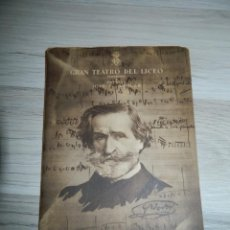 Libretos de ópera: OTELLO GRAN TEATRO LICEO 1950/51 BARCELONA. Lote 171603014
