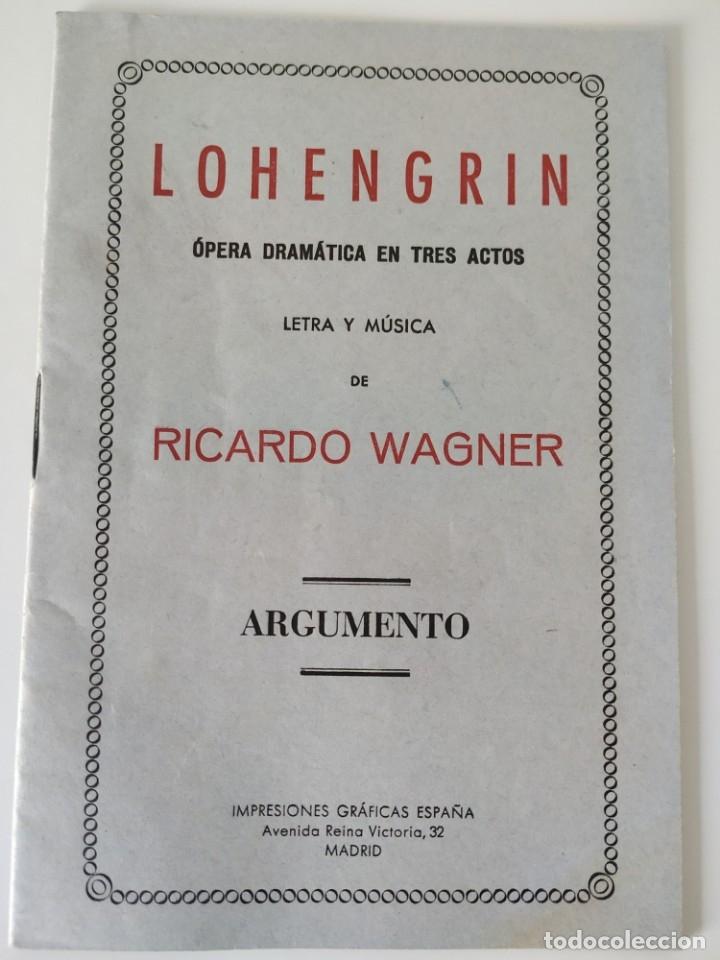 Libretos de ópera: Teatro Madrid. Gran temporada de ópera 1944. Programa de mano + libretos argumentos: La traviata,... - Foto 7 - 181800517