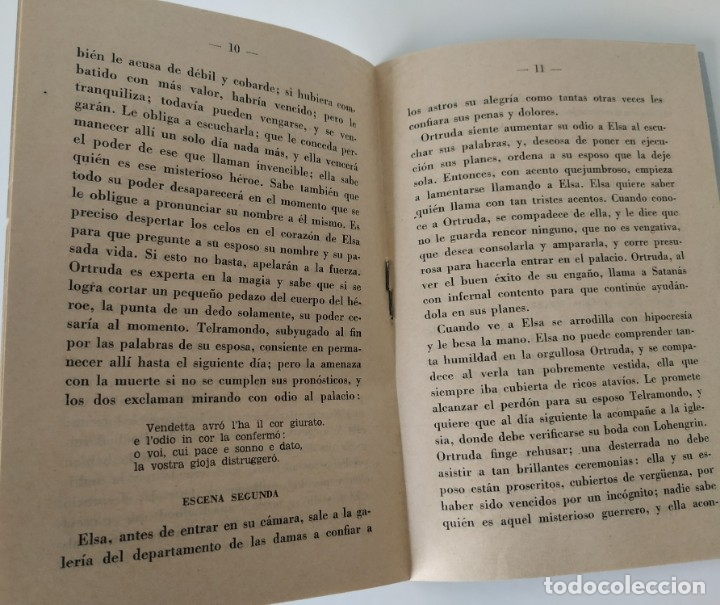 Libretos de ópera: Teatro Madrid. Gran temporada de ópera 1944. Programa de mano + libretos argumentos: La traviata,... - Foto 8 - 181800517