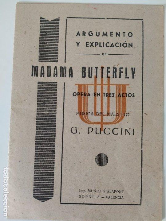 Libretos de ópera: Teatro Madrid. Gran temporada de ópera 1944. Programa de mano + libretos argumentos: La traviata,... - Foto 9 - 181800517