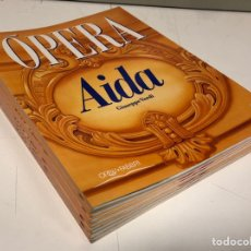Libretos de ópera: LOTE DE 10 LIBRETOS DE ÓPERA DE LA COLECCIÓN ORBIS FABBRI 1992. VER DESCRIPCIÓN.. Lote 182711228