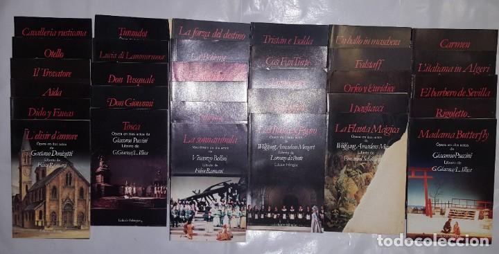 32 LIBRETOS DE OPERA DE PLANETA DE AGOSTINI 1989 (Música - Libretos de Opera)