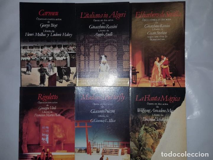 Libretos de ópera: 32 LIBRETOS DE OPERA DE PLANETA DE AGOSTINI 1989 - Foto 2 - 185047627
