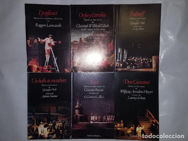 Libretos de ópera: 32 LIBRETOS DE OPERA DE PLANETA DE AGOSTINI 1989 - Foto 4 - 185047627