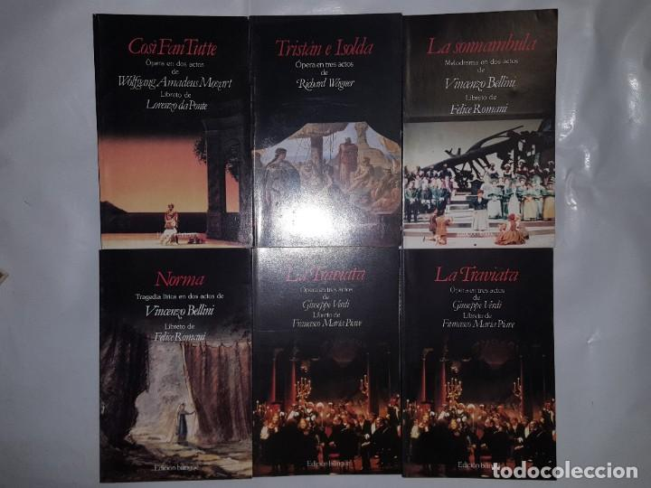 Libretos de ópera: 32 LIBRETOS DE OPERA DE PLANETA DE AGOSTINI 1989 - Foto 6 - 185047627