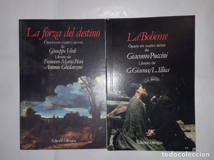 Libretos de ópera: 32 LIBRETOS DE OPERA DE PLANETA DE AGOSTINI 1989 - Foto 7 - 185047627