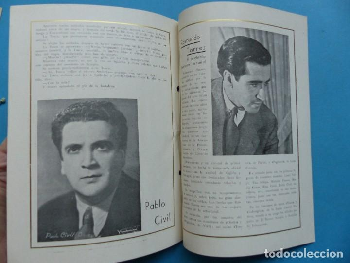 Libretos de ópera: VALENCIA - 2 LIBRETOS OPERA GRAN GALA, TEATRO APOLO, JUNTA CENTRAL FALLERA - AÑO 1943 - Foto 6 - 189572411