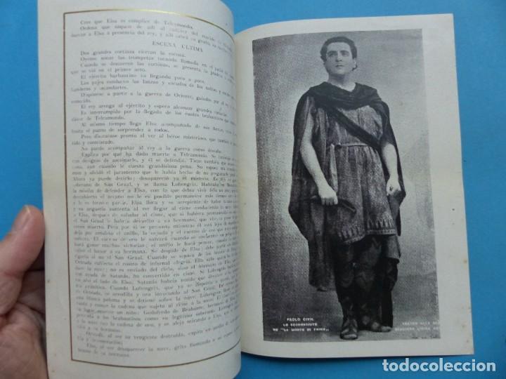 Libretos de ópera: VALENCIA - 2 LIBRETOS OPERA GRAN GALA, TEATRO APOLO, JUNTA CENTRAL FALLERA - AÑO 1943 - Foto 7 - 189572411