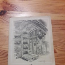 Libretos de ópera: LICEO EL MATRIMONIO SECRETO OPERA COMICA 1948-1949 LIBRETO. Lote 192897276