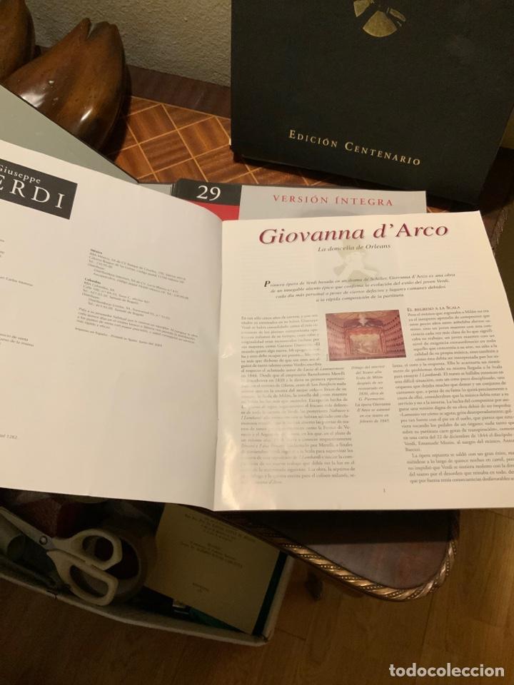 Libretos de ópera: Edición Centenario obras Giuseppe Verdi - Foto 2 - 192968061