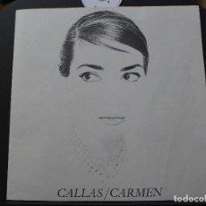 Libretos de ópera: LIBRETO DE OPERA MARIA CALLAS - CARMEN. Lote 193438955
