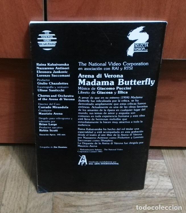 Libretos de ópera: Madama Butterfly Giacomo Puccini 47 Paginas Opera en Tres Actos Selecta Visión 1983 - Foto 2 - 193873472