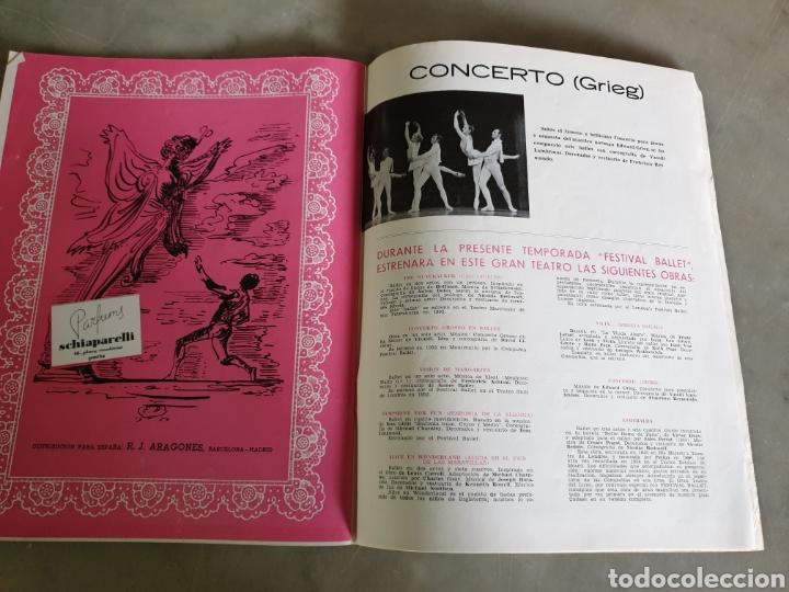 Libretos de ópera: Gran teatro del liceo. Barcelona. Temporada de primavera 1954. Festival Ballet - Foto 4 - 195168326