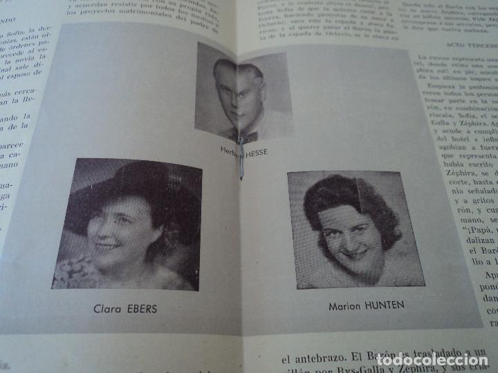 Libretos de ópera: GRAN TEATRO DEL LICEO festivales musica alemana el caballero de la rosa.1944 director hans meissner - Foto 5 - 202424817