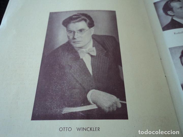 Libretos de ópera: GRAN TEATRO DEL LICEO festivales musica alemana el caballero de la rosa.1944 director hans meissner - Foto 6 - 202424817