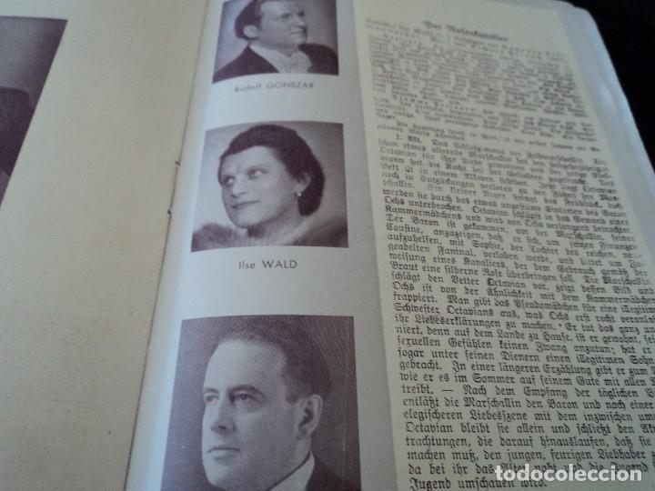 Libretos de ópera: GRAN TEATRO DEL LICEO festivales musica alemana el caballero de la rosa.1944 director hans meissner - Foto 7 - 202424817