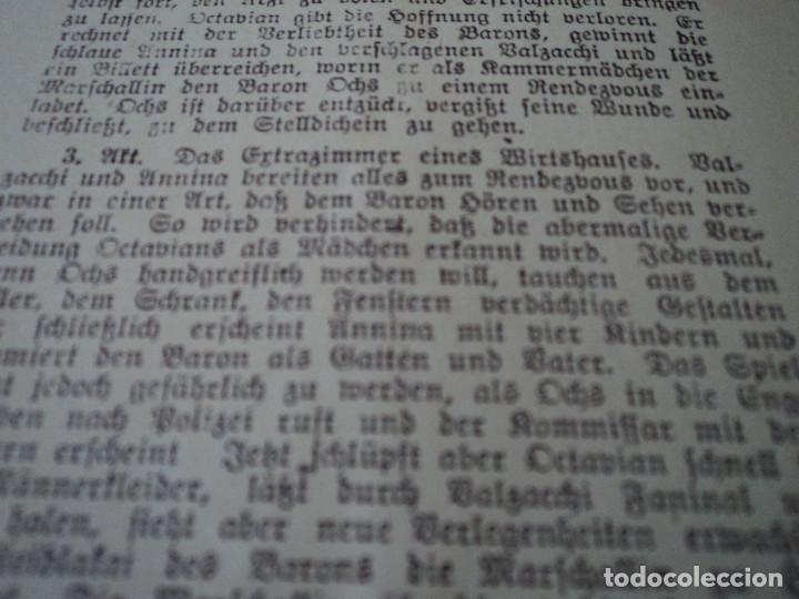 Libretos de ópera: GRAN TEATRO DEL LICEO festivales musica alemana el caballero de la rosa.1944 director hans meissner - Foto 8 - 202424817