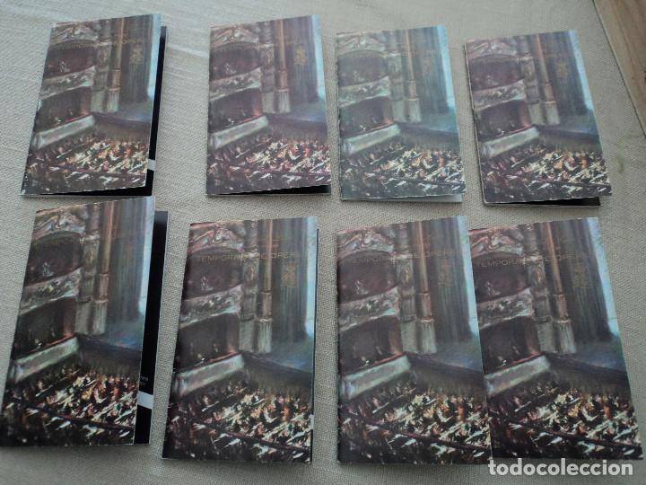 8 PROGRAMAS DE OPERA GRAN TEATRO DEL LICEO DE BARCELONA 1970 LEER DESCRIPCION DE OPERAS Y CANTANTES (Música - Libretos de Opera)