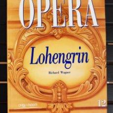 """Libretti di opera: LIBRO, """"LOHENGRIN"""" DE WAGNER. IDIOMA: CASTELLANO. Lote 205007990"""