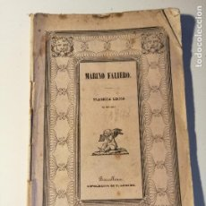 Libretos de ópera: LIBRETO DEL ESTRENO DE MARINO FALIERO , DONIZETTI. TEATRO DEL LICEO. BARCELLONA. 1848.. Lote 205434381