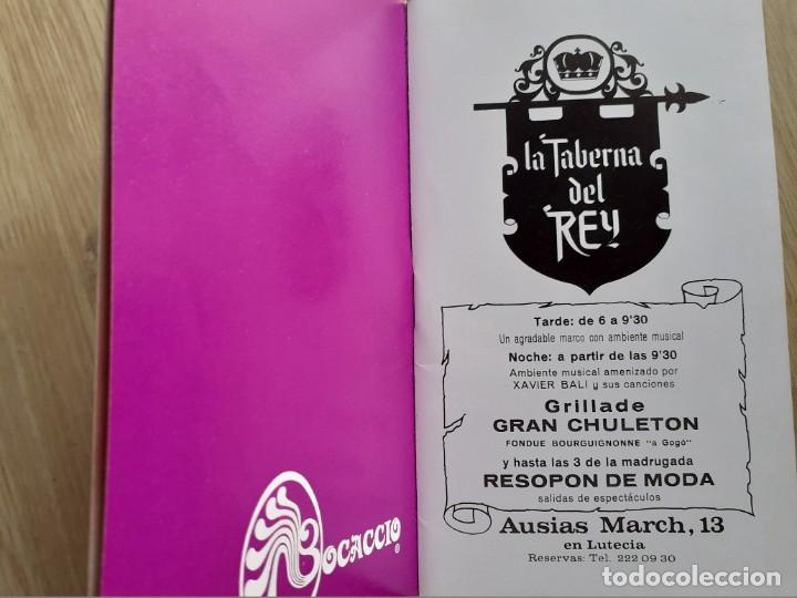 Libretos de ópera: PROGRAMA GRAN TEATRO DEL LICEO - TEMPORADA DE OPERA INVIERNO 1969 -70 BARCELONA - CON AUTOGRAFOS - Foto 4 - 206761178