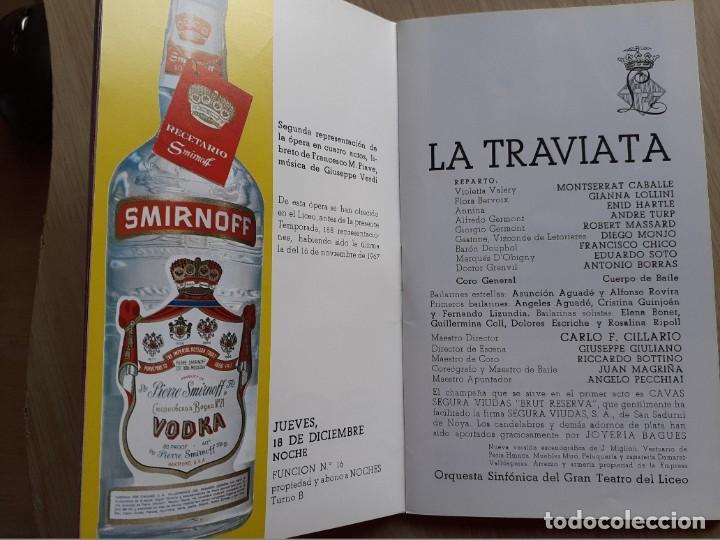 Libretos de ópera: PROGRAMA GRAN TEATRO DEL LICEO - TEMPORADA DE OPERA INVIERNO 1969 -70 BARCELONA - CON AUTOGRAFOS - Foto 7 - 206761178