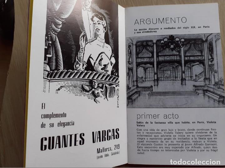 Libretos de ópera: PROGRAMA GRAN TEATRO DEL LICEO - TEMPORADA DE OPERA INVIERNO 1969 -70 BARCELONA - CON AUTOGRAFOS - Foto 8 - 206761178
